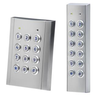 Vandal and Weather Resistant Keypads