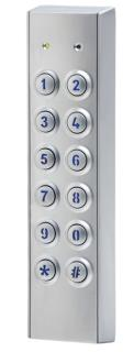 KEYPAD EXTERNAL STAINLESS SLIM (RS485)