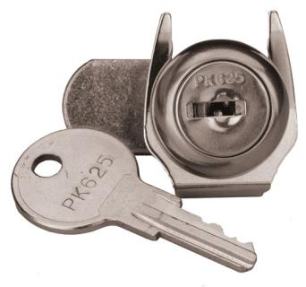 Enclosure lock and key set for D2803