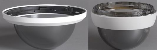 VGA-BUBBLE-CTIA ドームカバー、天井埋め込み型、スモーク