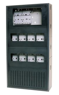 Housing 10 modules, wall-mount
