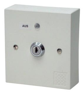 Service switch for extinguishing systems