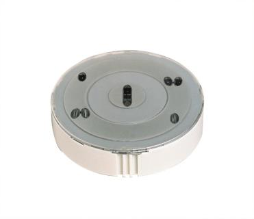 Smoke detector, optical, color inserts
