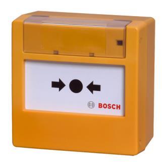 FMC-300RW-GSGYE Manual call point, glass, yellow