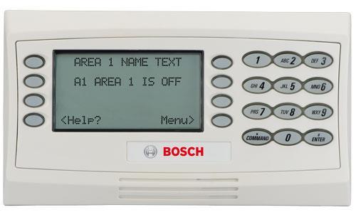 LCD text keypad w/soft keys, white, SDI