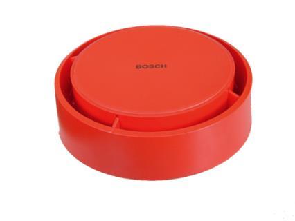 MSS300-SA Standalone-Sockelsirene, rot