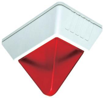 Lampeggiante stroboscopico rosso, 24V