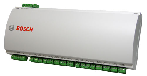 Extention board with 8-input 8-output