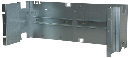 "Fitting panel, 19"", 4 DIN rails"