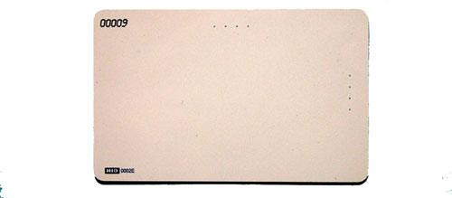 ACD-ISO CARD Card, HIDprox, 26 bit, 50pcs