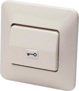 RTE-knop met sleutelsymbool inbouwmont.
