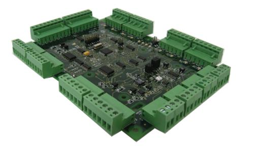 API-AEC21-4WR 4 placas de lectora Wiegand