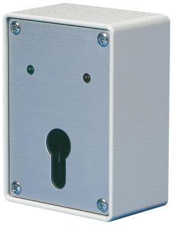 Schlüsselschalter für Profil-Halbzylinder mit 2LED