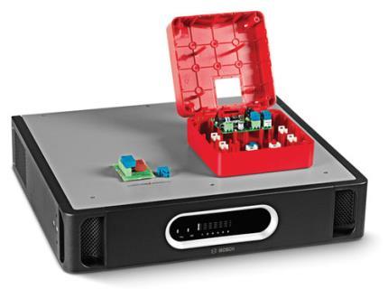 Système isolateur de ligne de haut-parleurs