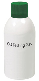 Test gas for detector with CO sensor