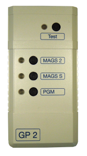 Glasbruchmelder Prüfgerät GP2