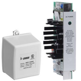D8132 Battery charger, 12V