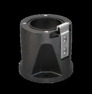 MIC-DCA-HB Deep conduit mount, M25 holes, black