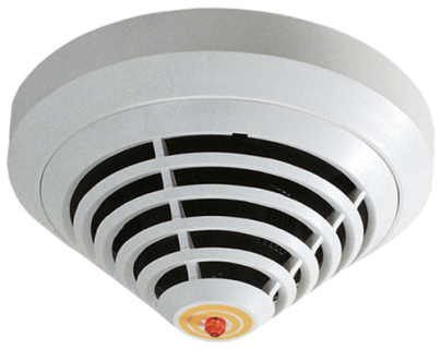 Detector dual-optical/thermal/chemical