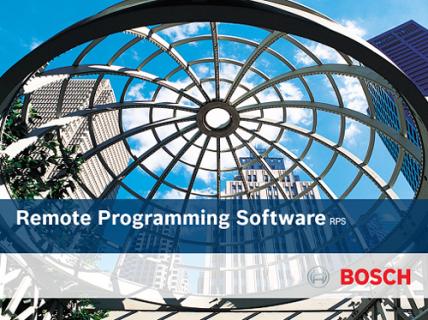 Logiciel de paramétrage à distance (RPS, Remote Programming Software)