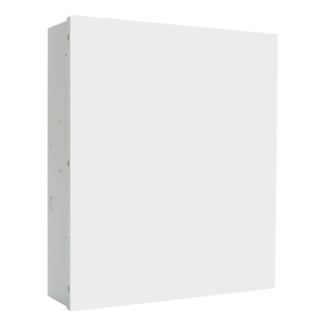 Steel enclosure, medium, white