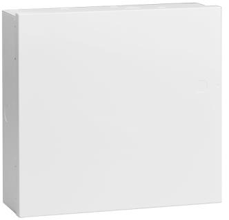 Steel enclosure, small, white
