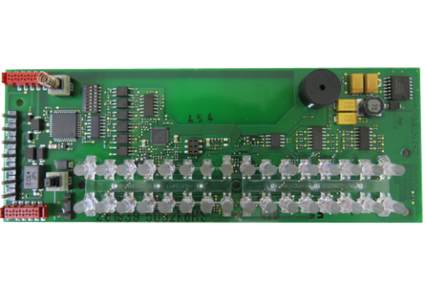Display module for BAT100 LSN