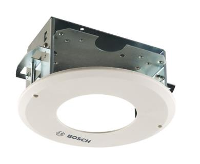 In-ceiling flush mount for microdome