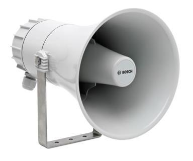 Corneta para sonorização, 15W, marinho