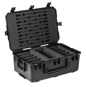 Transport case for 10x DCN devices