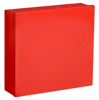 Enclosure, small, red