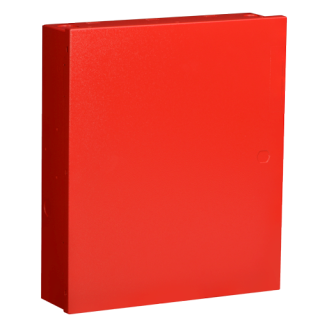 Enclosure, medium, red