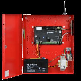 B10R-1640-120WI Caja, mediana, roja,16,5VCA 40VA