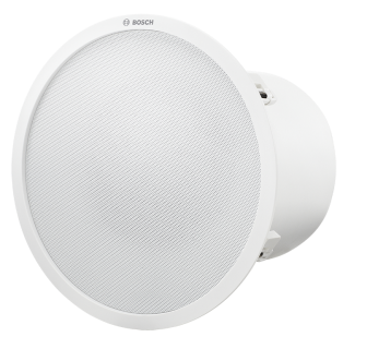 Ceiling mount subwoofer, white