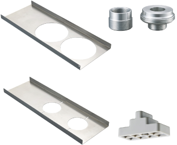 Soportes de montaje para cámaras domo fijas y PTF