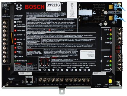 B9512G Control Panels