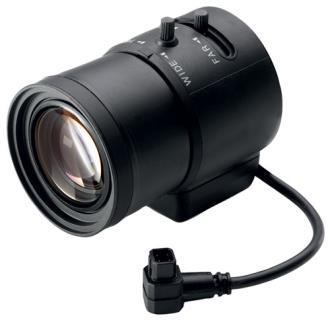 Lente varifocal, 3,8-13mm, 3MP, mont. C
