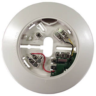 F220-B6R Base with form A relay, 4-wire, 12/24V
