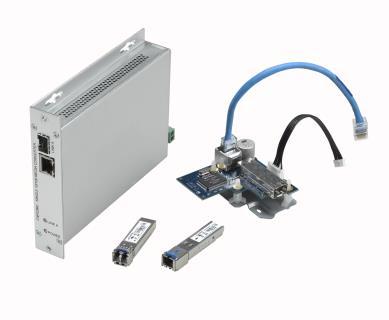 Convertidor de medios de fibra óptica