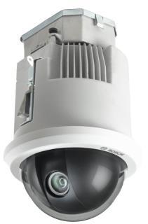 VG5-7130-CPT4 AUTODOME starlight 7000 HDカメラ、720p60、30倍ズーム、天井埋め込み型、スモークドームカバー