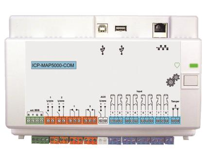 Intrusion panel, 8 loop, communicator