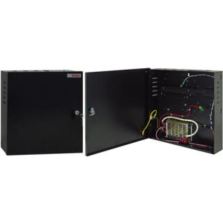 Enclosure with power supply & DIN rail