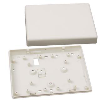 Universal plastic enclosure, white