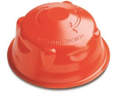 Tapa para polvo para detector