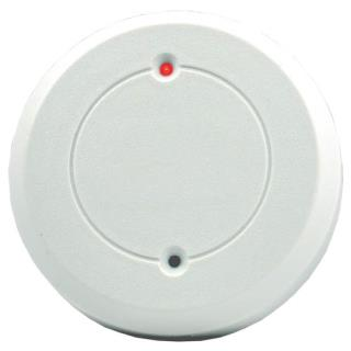 Glassbreak detector, round, form C relay