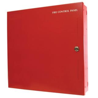 "Fire enclosure, 16x16x3.5"", red"