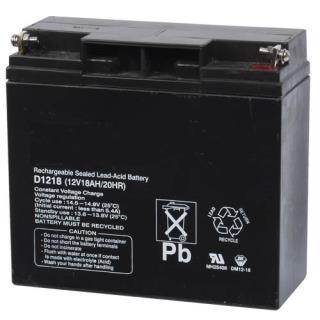 Battery, 12V 18Ah