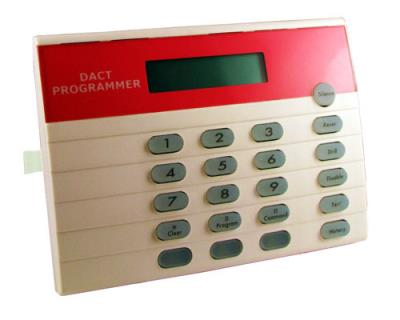 FMR-DACT-KEYPAD Program. via teclado DACT, 4 fios, 12V
