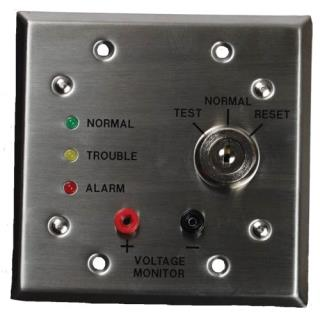 Remote test/indicator plate, 24V
