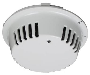 Multiplex duct smoke detector head